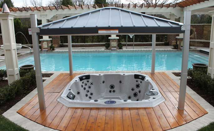 Covana L Automated Hot Tub Cover Automatic Spa