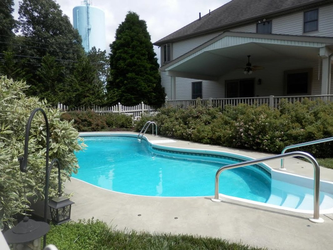 In ground pools central jersey pools for Above ground pool decks nj