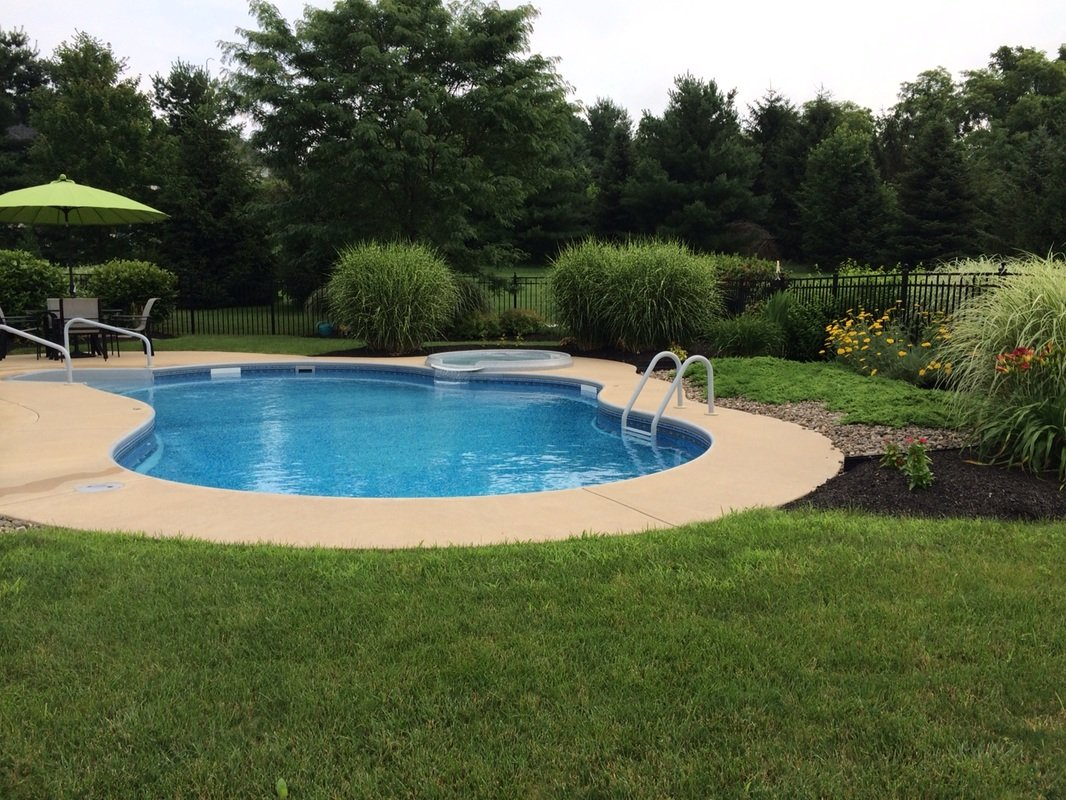 Inground swimming pools on ground swimming pools pools for Outdoor pools in nj