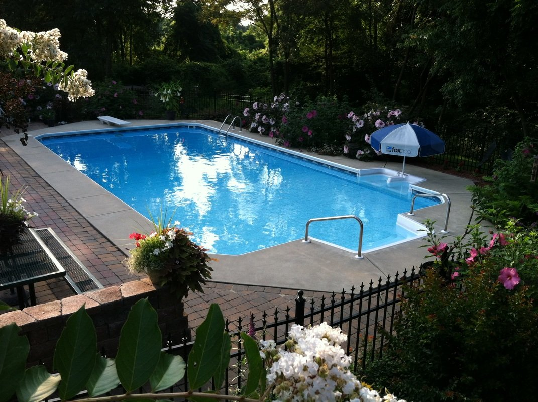 Inground Swimming Pools On Ground Swimming Pools Pools