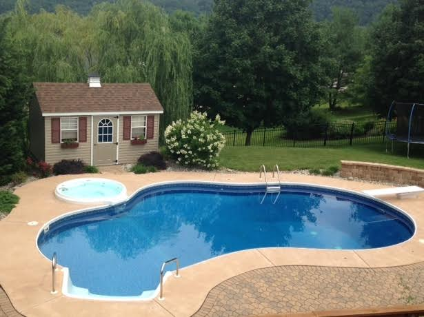 Inground Swimming Pools On Ground Swimming Pools Pools In New Jersey Above Ground Pools Nj