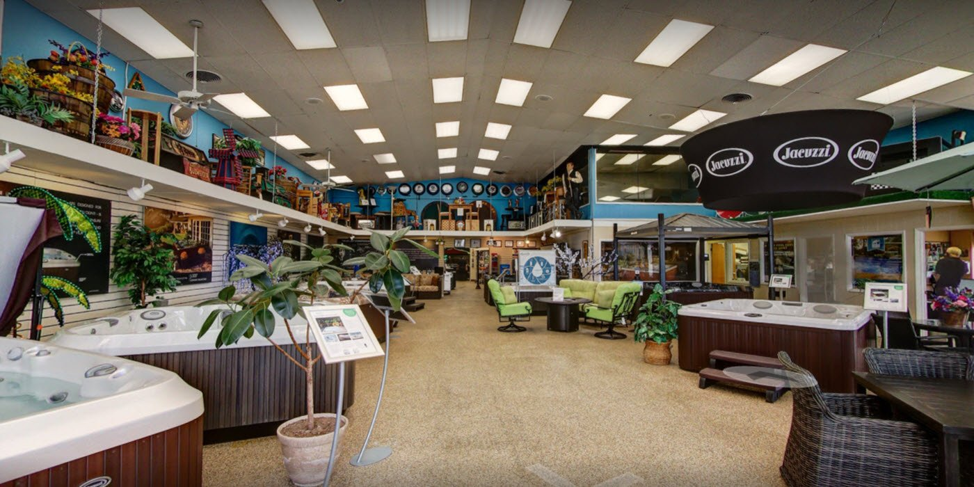 Front Showroom Three swimming pools & pool supplies in nj central jersey pools  at gsmx.co